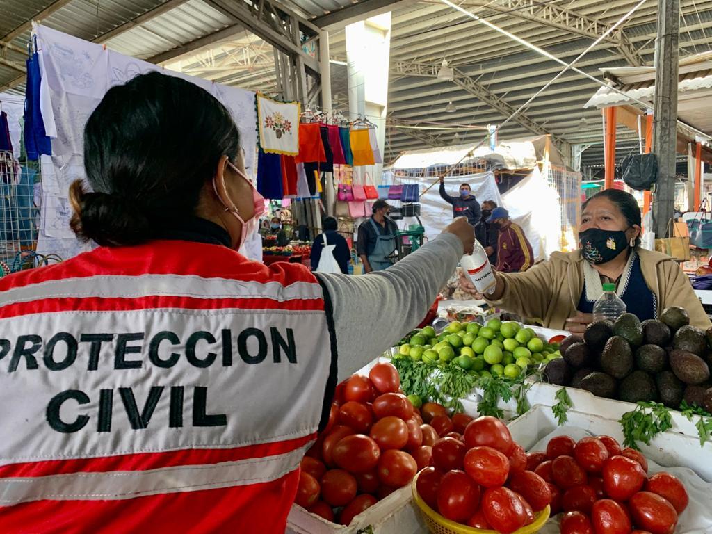 GOBIERNO MUNICIPAL Y LA BRIGADA COVID-19 SIGUEN CON LOS OPERATIVOS