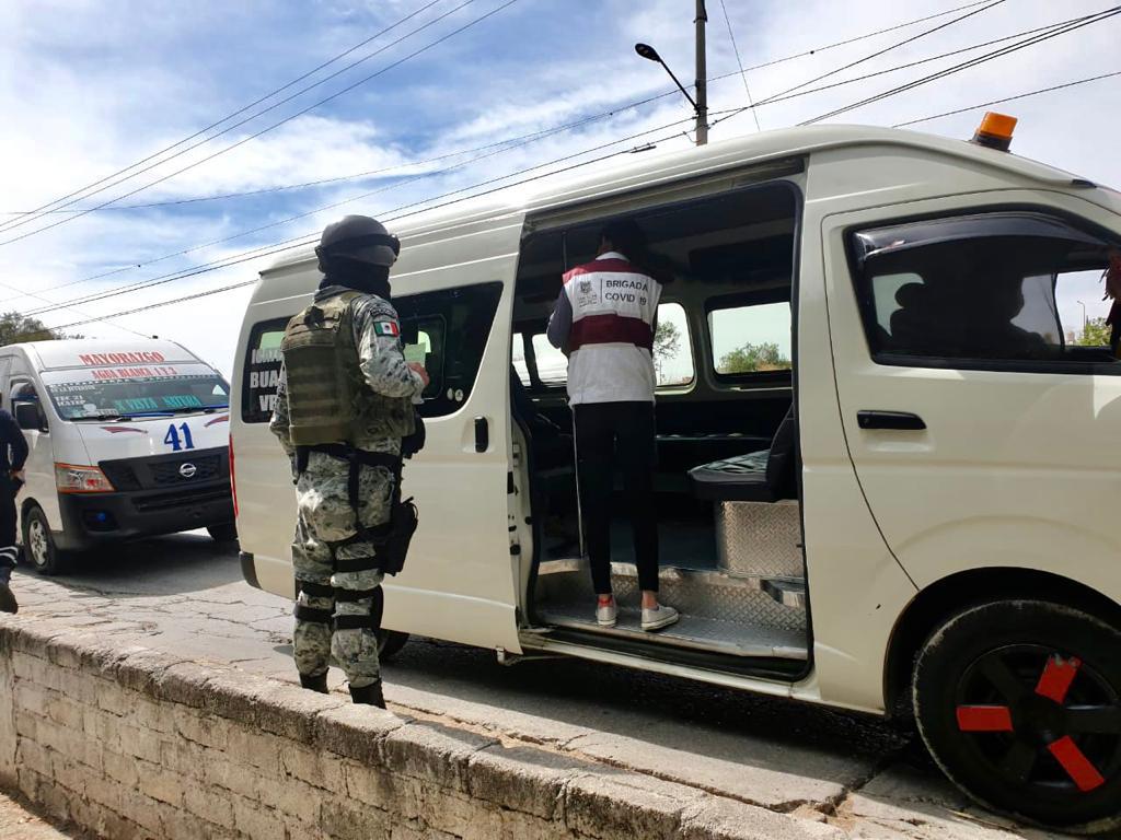 GOBIERNO MUNICIPAL IMPLEMENTA FILTRO SANITARIO EN AVENIDA DE LA JUVENTUD
