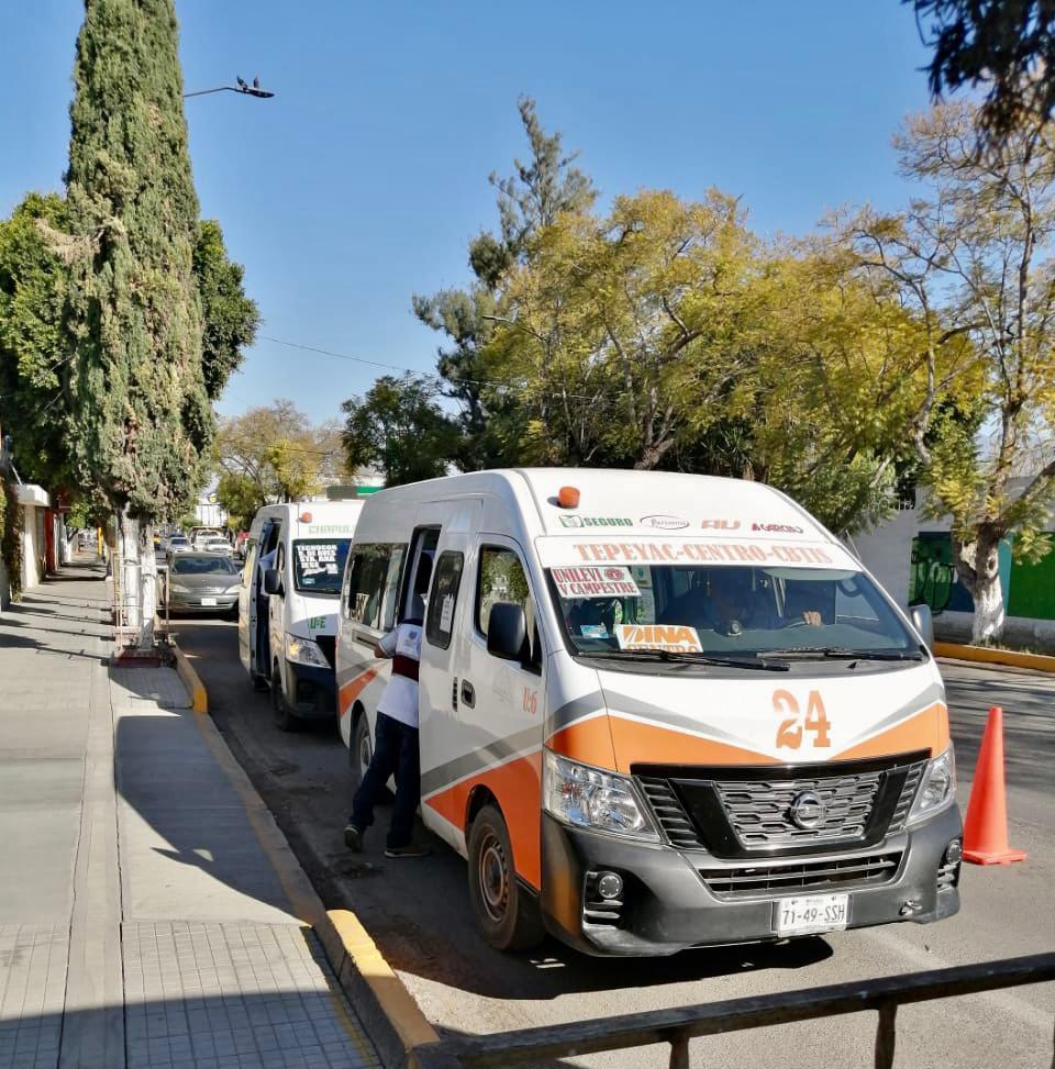 GOBIERNO MUNICIPAL CONTINÚA CON LOS FILTROS SANITARIOS EN EL TRANSPORTE PÚBLICO